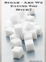 Sugar - Are we Eating too Much of it- (4)